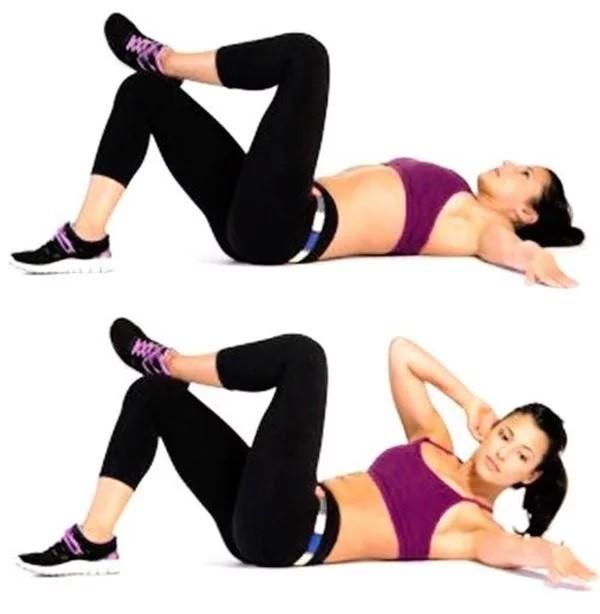 Специальные упражнения для укрепления боковых мышц