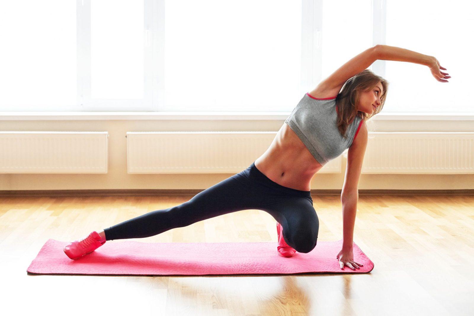 Домашний фитнес для женщин, как заставить себя заниматься?