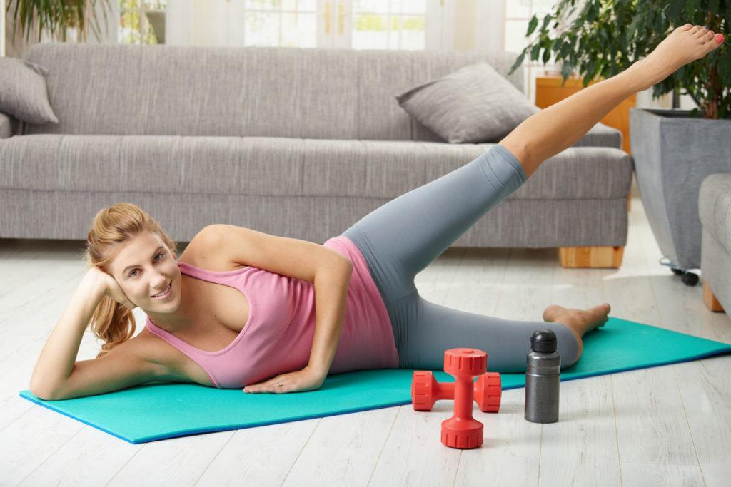 Что необходимо приобрести для домашнего фитнеса?