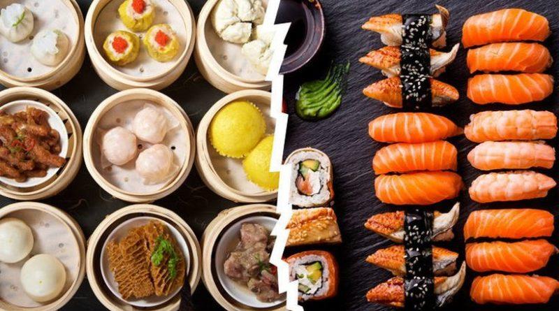 Китайская и японская кухня особенности