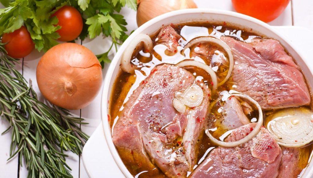 Мариновка свинины, как правильно?