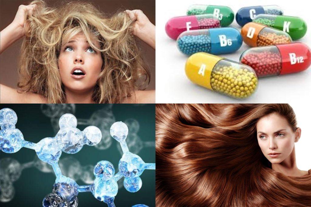 Здоровое питание для волос