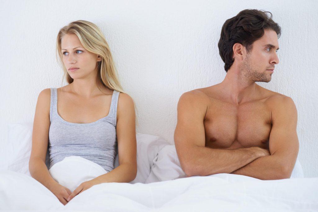 Почему не выходит возбудить мужчину