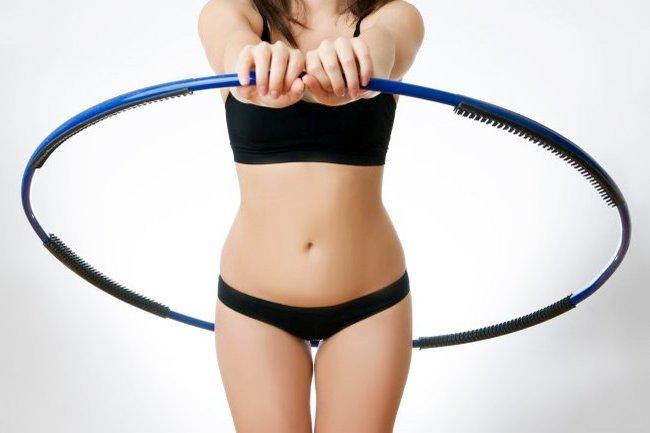 Упражнение с обручем