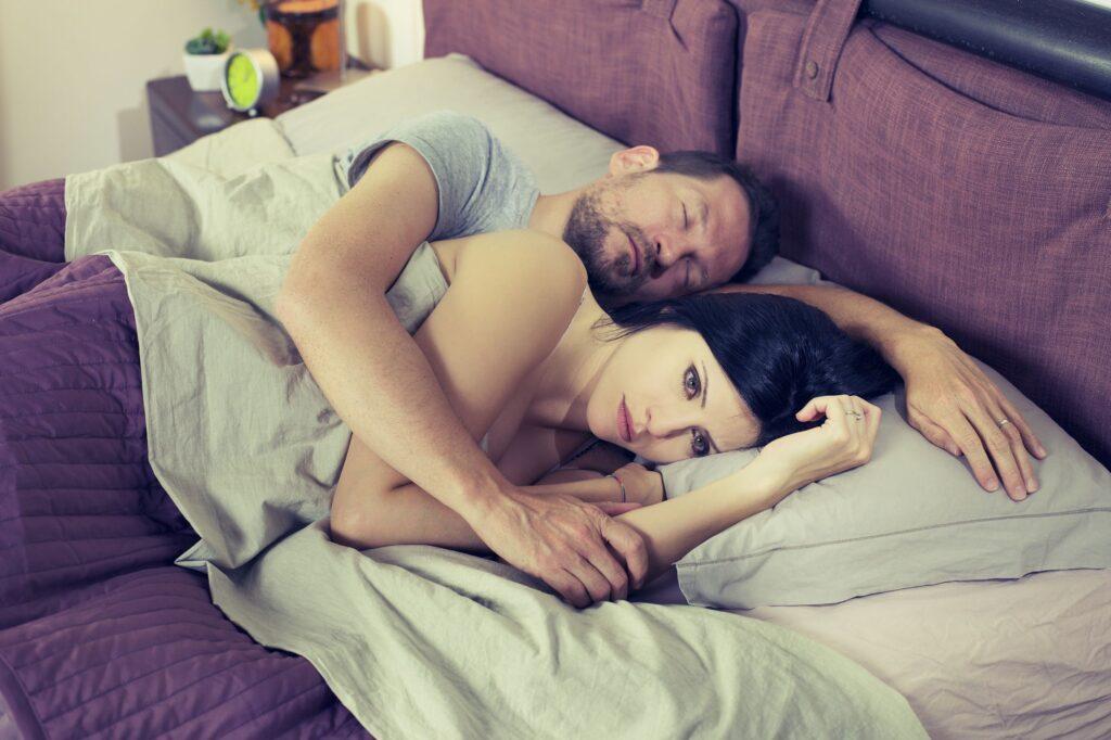 Засыпать сразу после соития