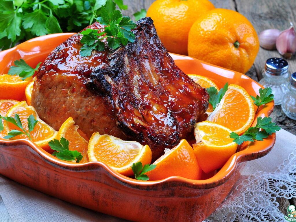 Мандарины идеально подходят к мясу